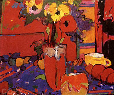 """Red Vase"""