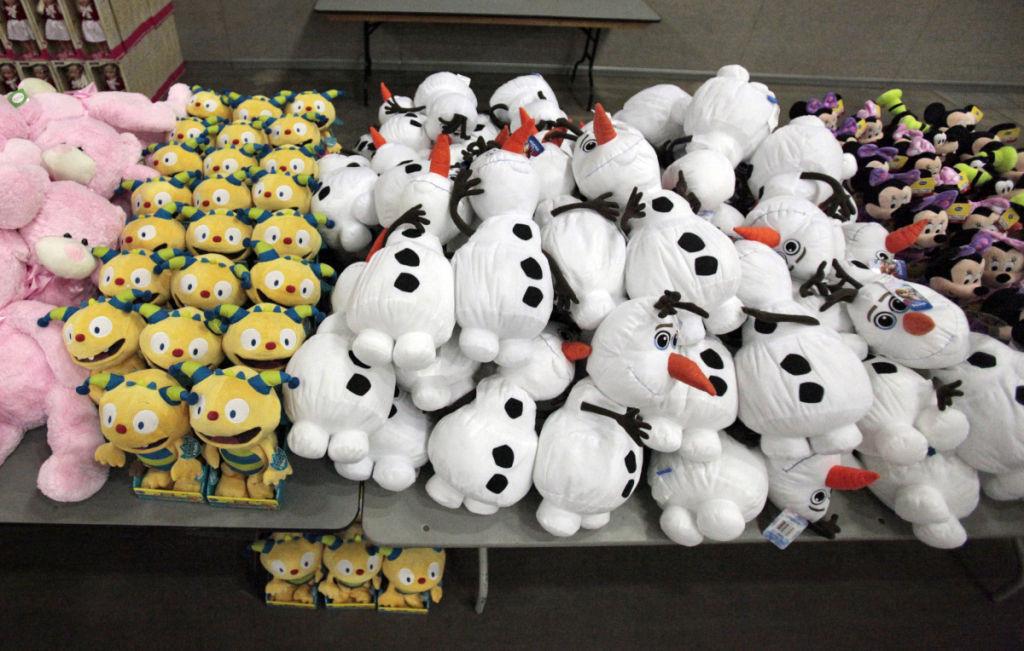 Empty Stocking Club stuffed toys