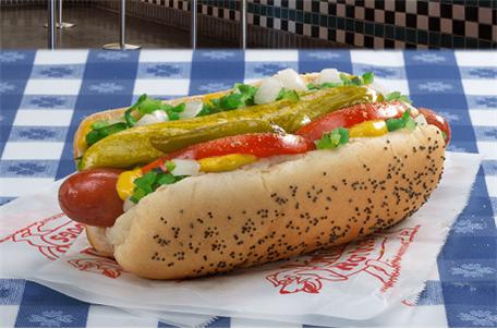 Portillo's hot dog