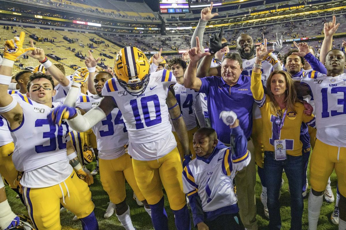 Arkansas LSU Football