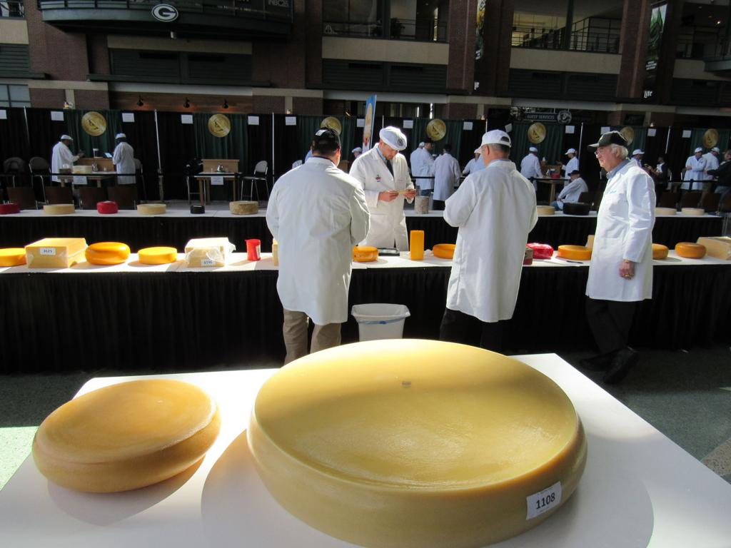 Here are the winning Wisconsin cheeses from the US