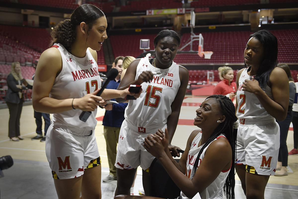 Maryland Media Day Basketball