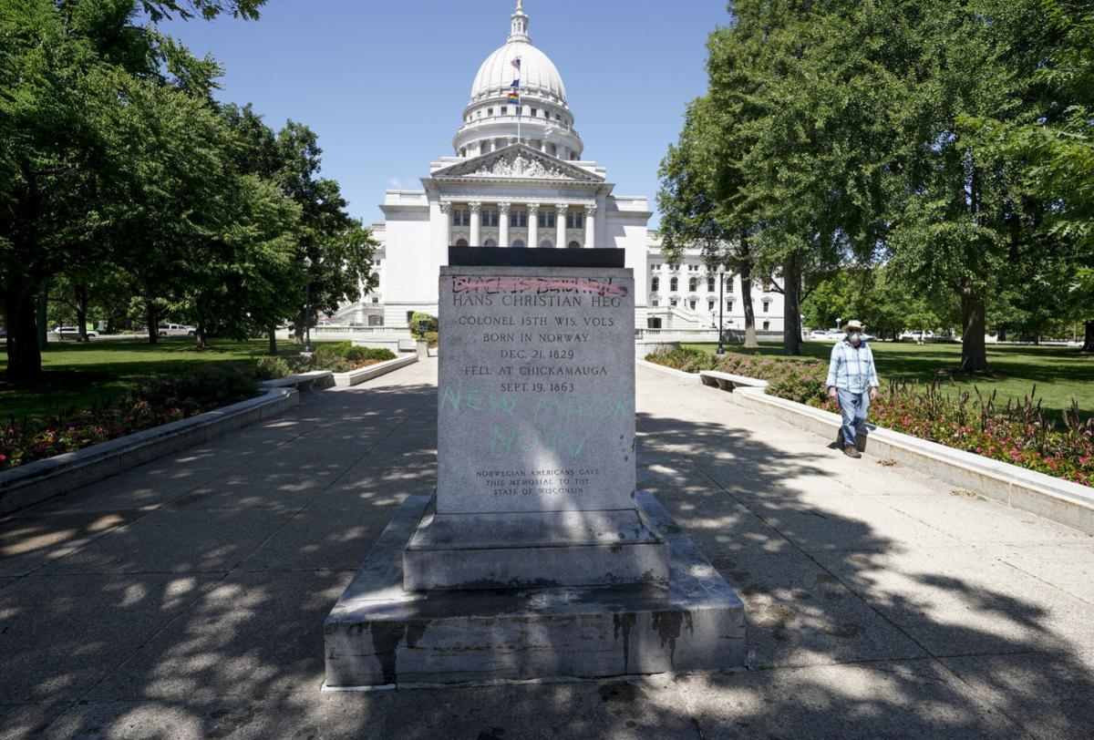 Capitol damage