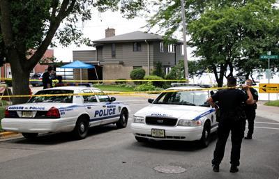 Madison police scene
