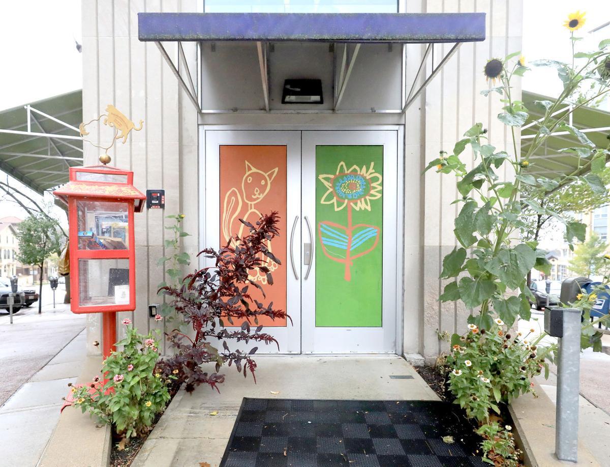 Childrens Museum front doors