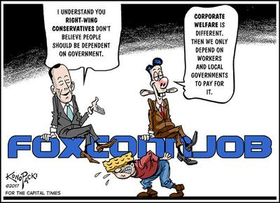 Martha Laning: Foxonn is a costly Walker campaign stunt
