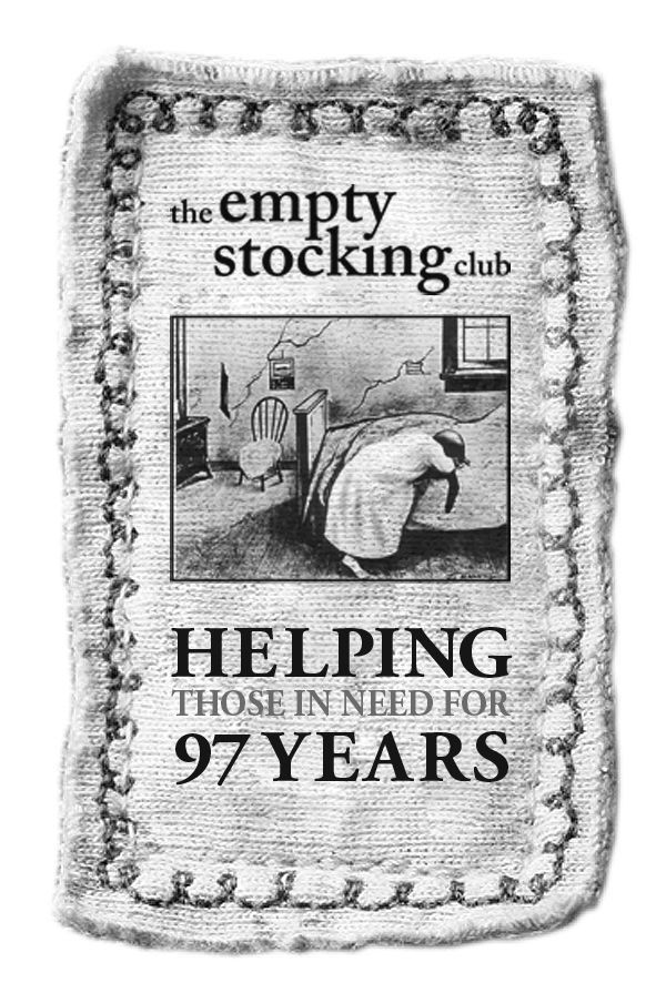 Empty Stocking logo 2015-16: 97 years