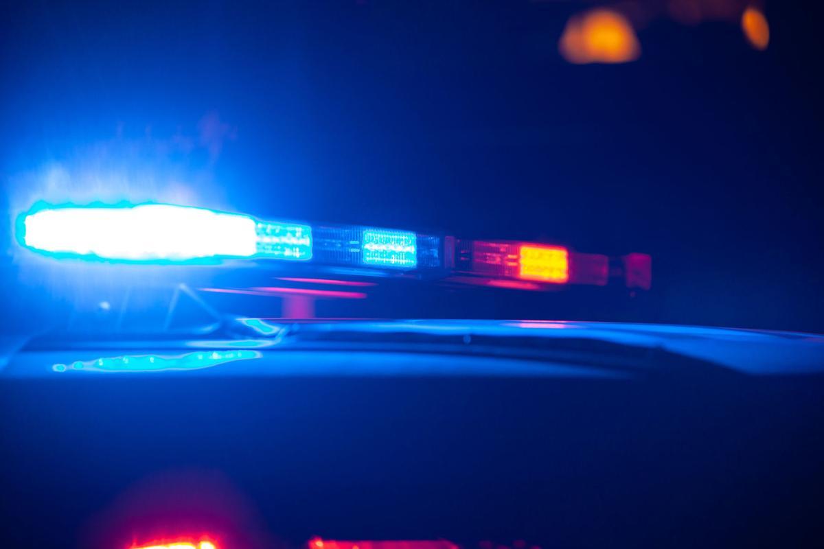Police lights siren squad car, generic file photo