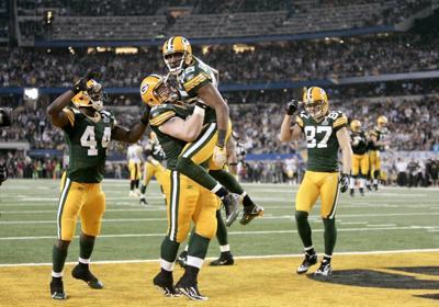 Greg Jennings, Scott Wells, Packers vs. Steelers, Super Bowl XLV
