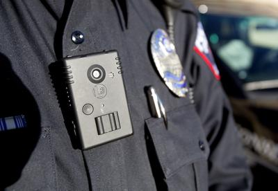 Body worn camera close up