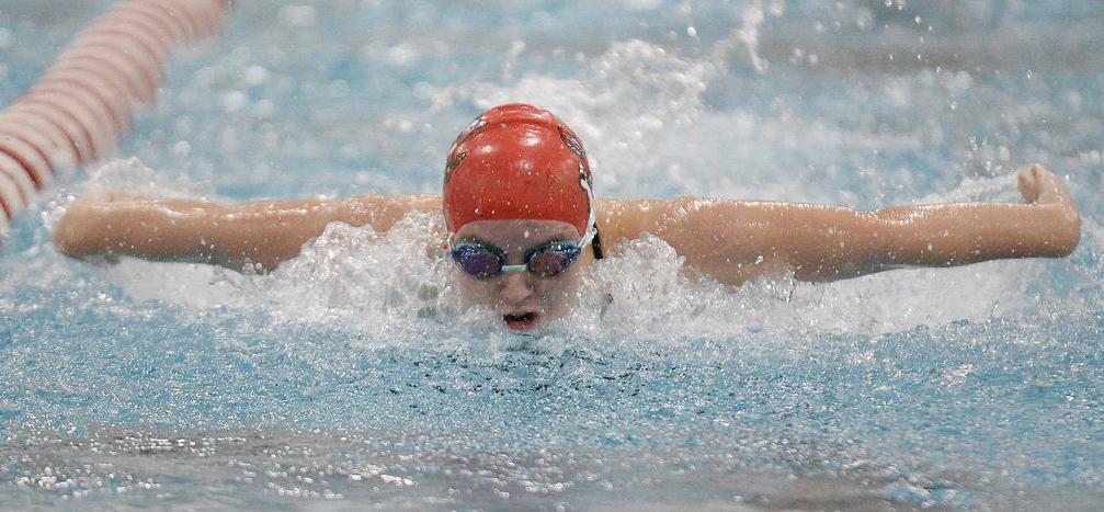 Prep girls swimming photo: Sun Prairie's Cassidy Carey