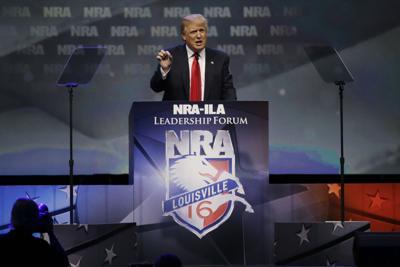 Trump at NRA
