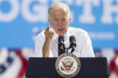The Latest: Biden