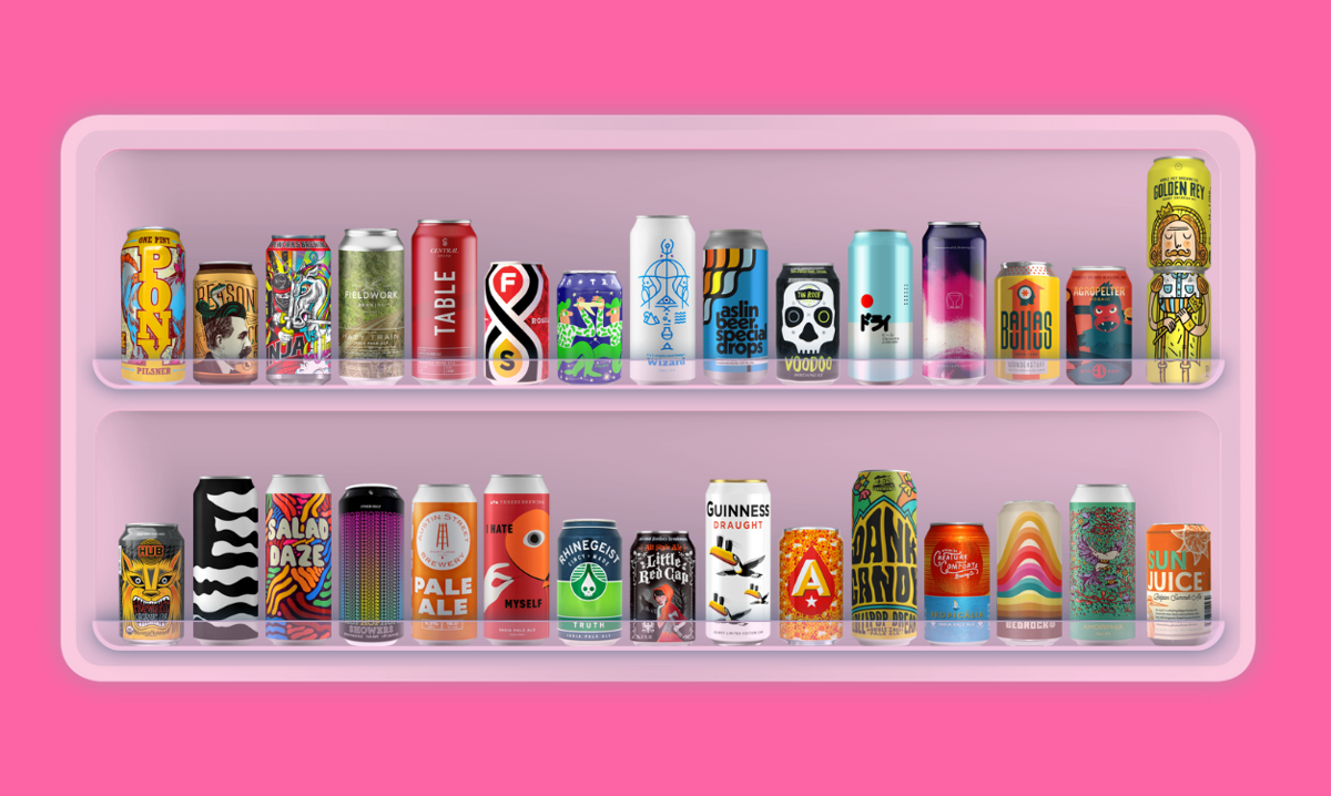 Best-looking beer cans