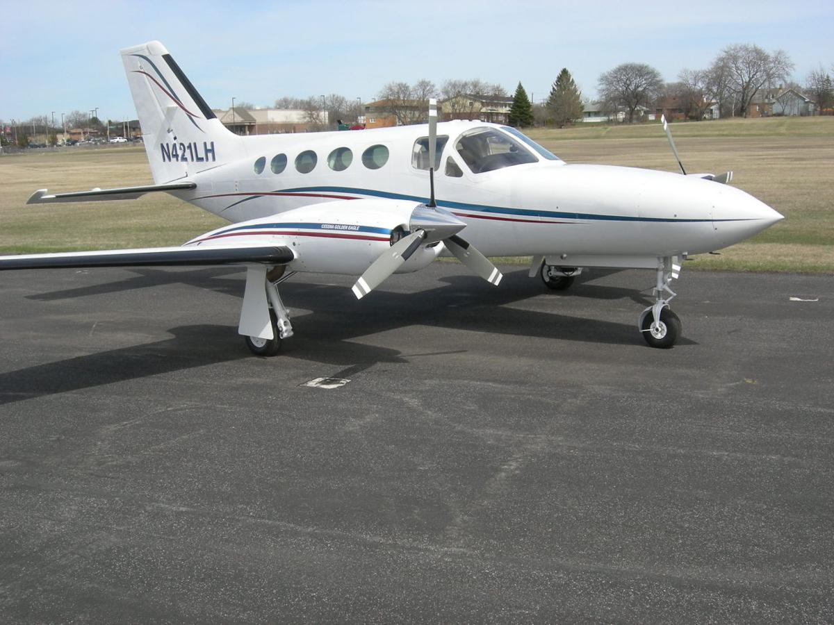 BCI's corporate plane