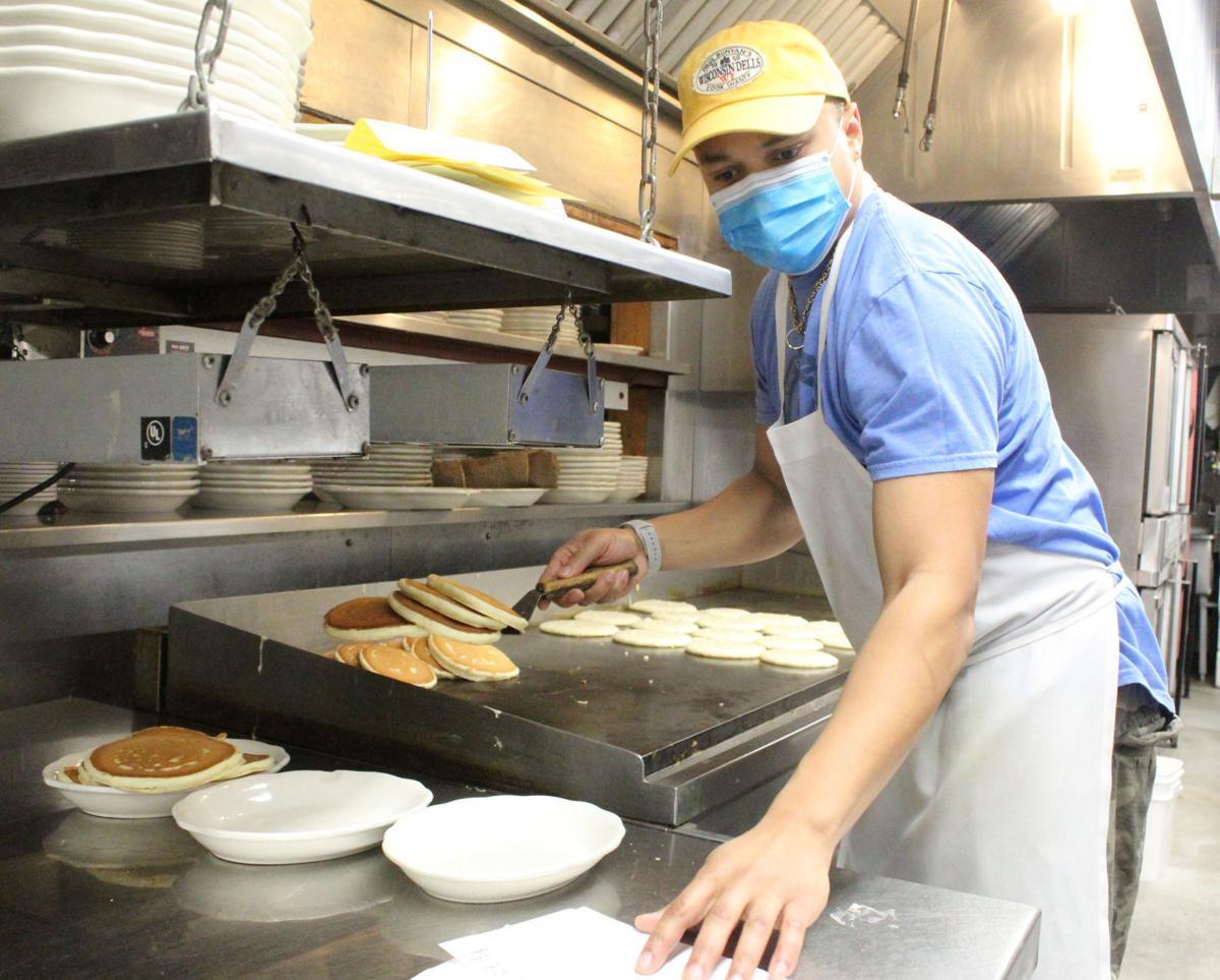 Munir makes pancakes 2