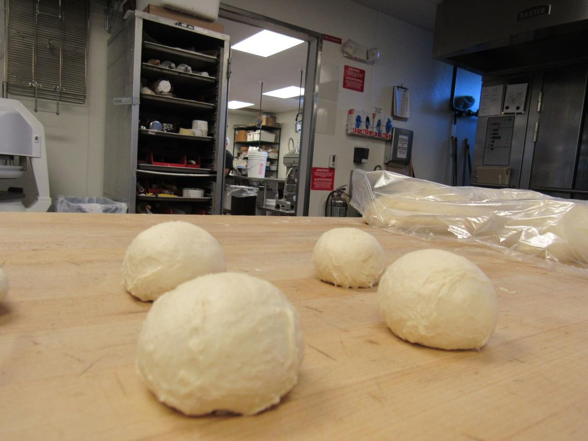 Pete's Hamburgers bun dough