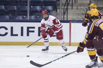 Cole Caufield skating