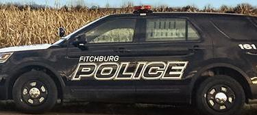 Fitchburg Police squad car tight crop 2-11-19