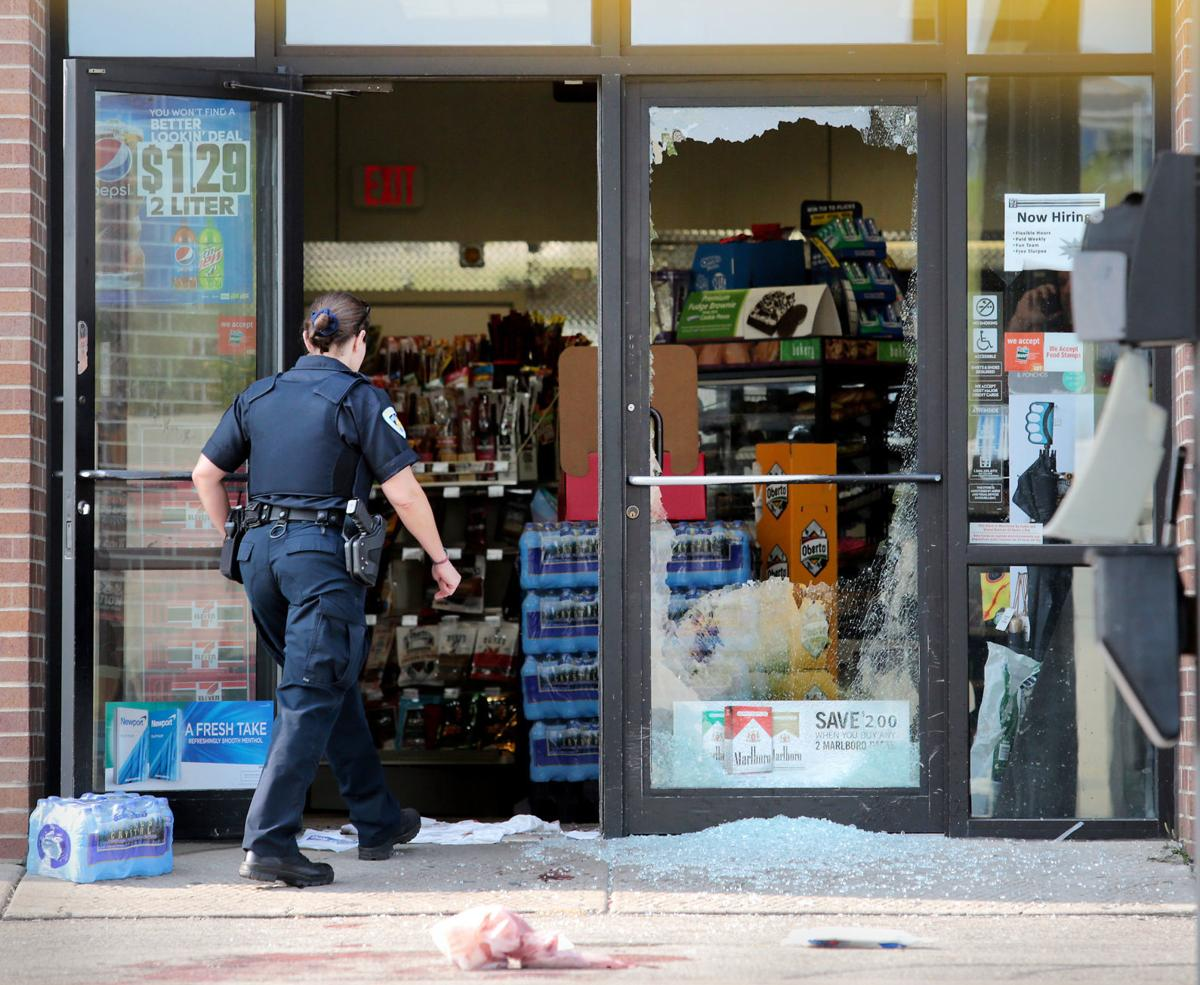 Homicide at convenience store