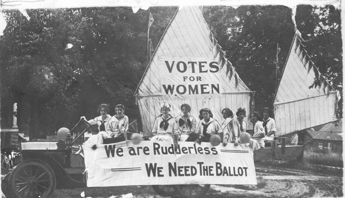Oshkosh Equal Suffrage League, 7/4/1912