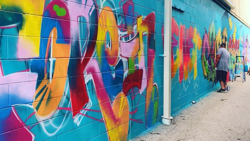 Street artists to give Monona a burst of bold color at first Urban Arts Fest