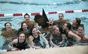 WIAA state girls swimming Division 2: Madison Edgewood wins fourth consecutive state title; McFarland's Alexandra Moderski sets two records