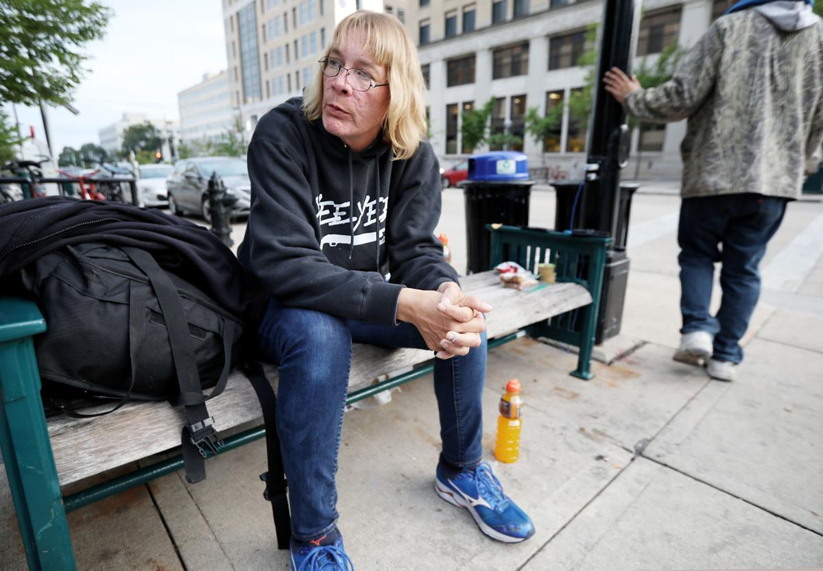 Downtown homeless