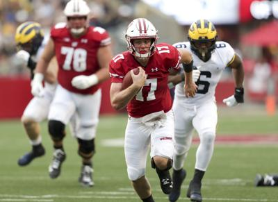 Big Ten blowout: Wisconsin Badgers rout Michigan Wolverines to open conference play