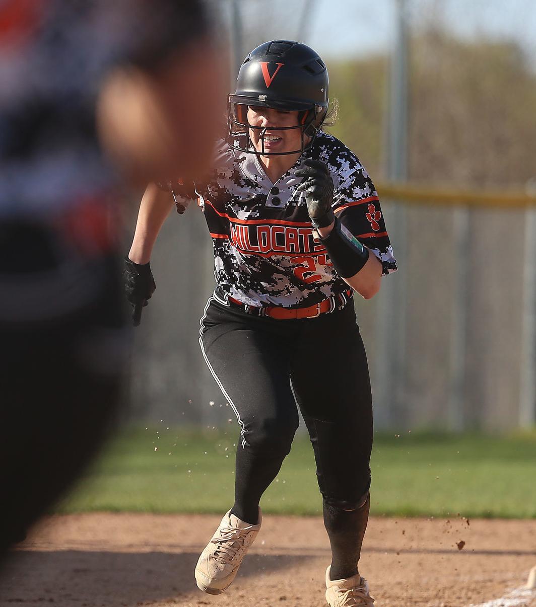 WIAA softball photo: Verona's Molly McChesney