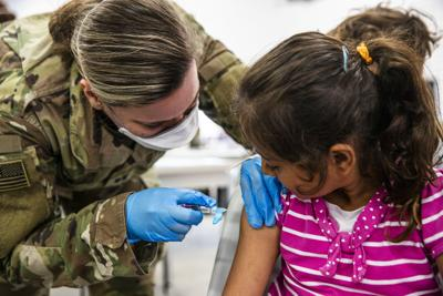 Refugee vaccinations
