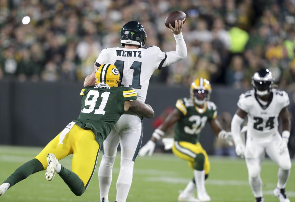 Eagles 34, Packers 27