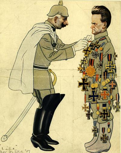 Bob La Follette cartoon, 1917