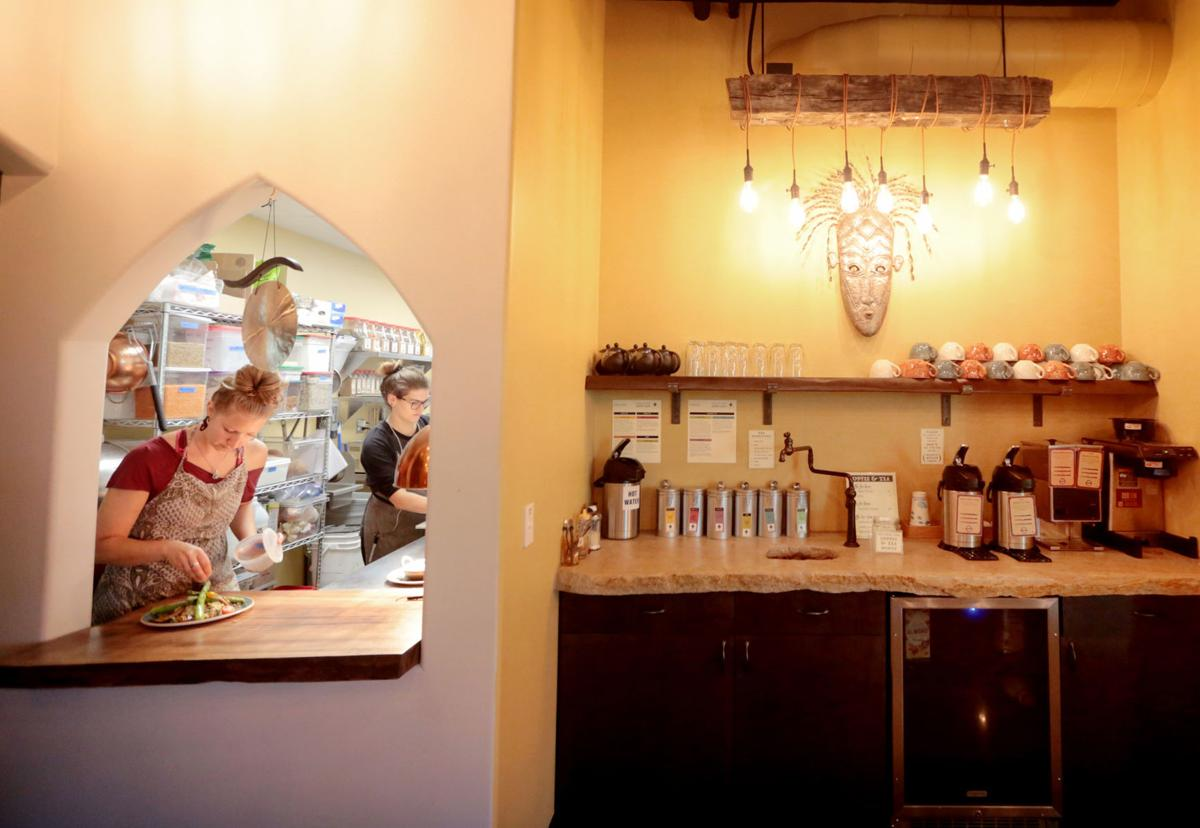 Surya Cafe kitchen window