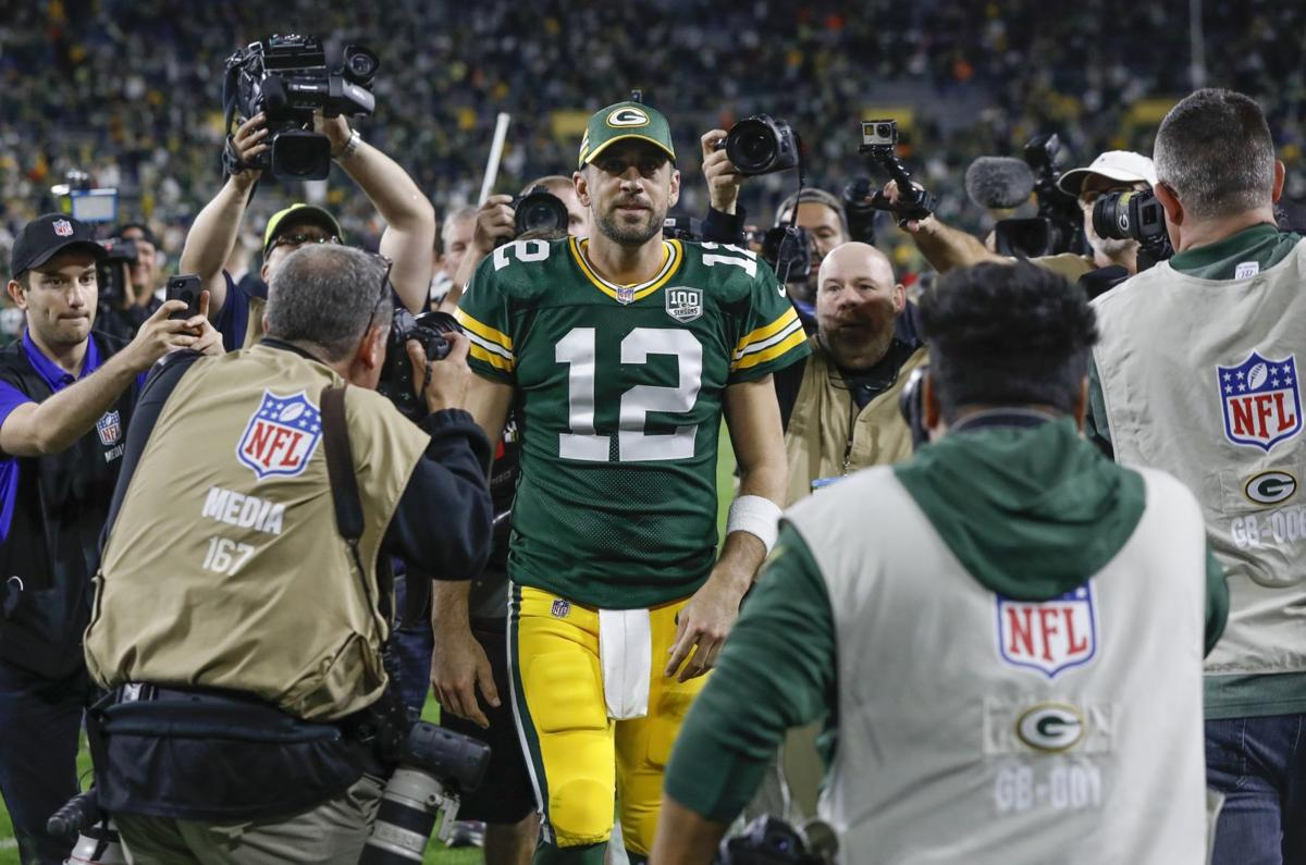 Aaron Rodgers cover photo