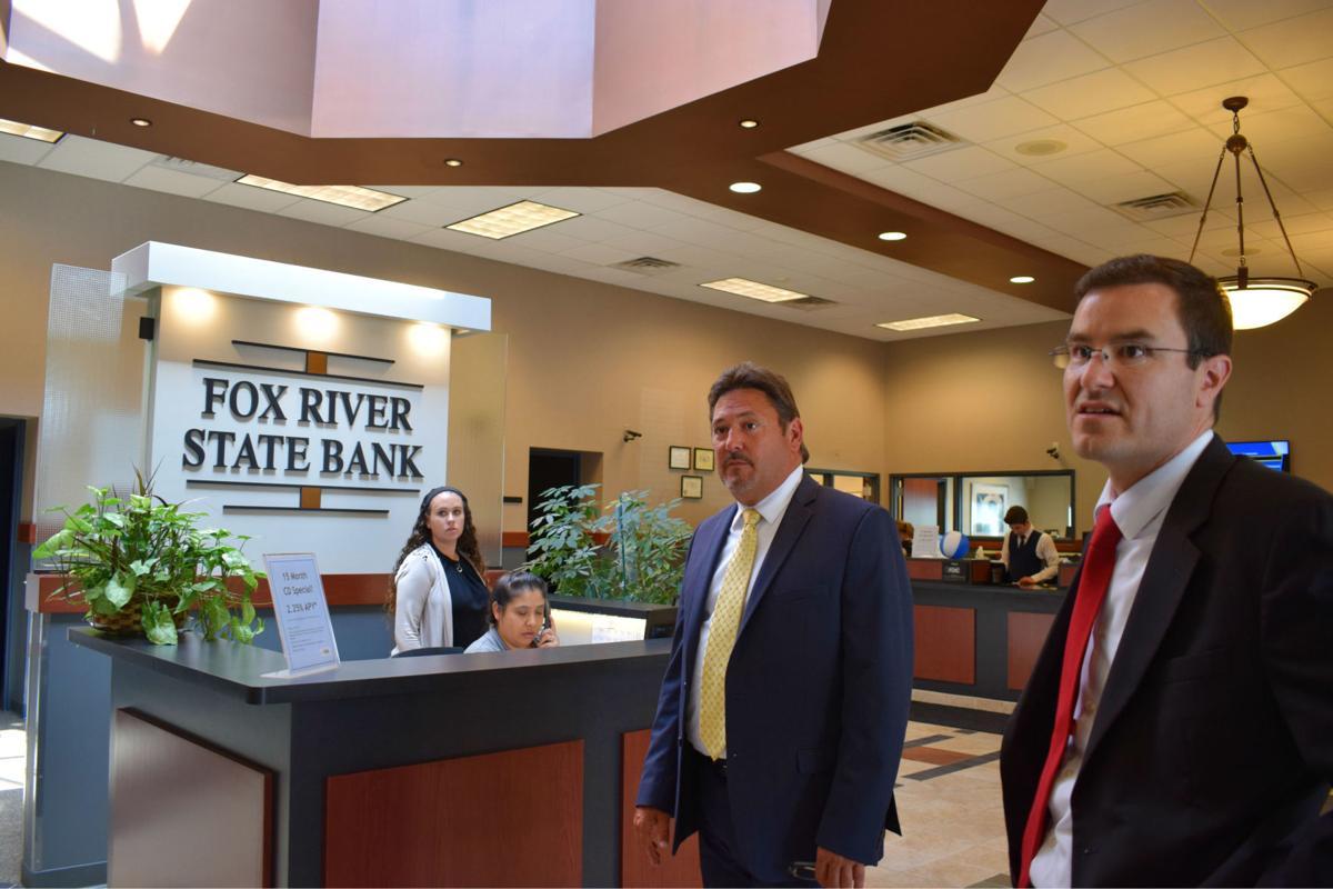 Fox River State Bank tour