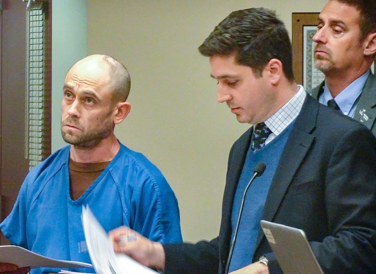 Benjamin Nickel in court