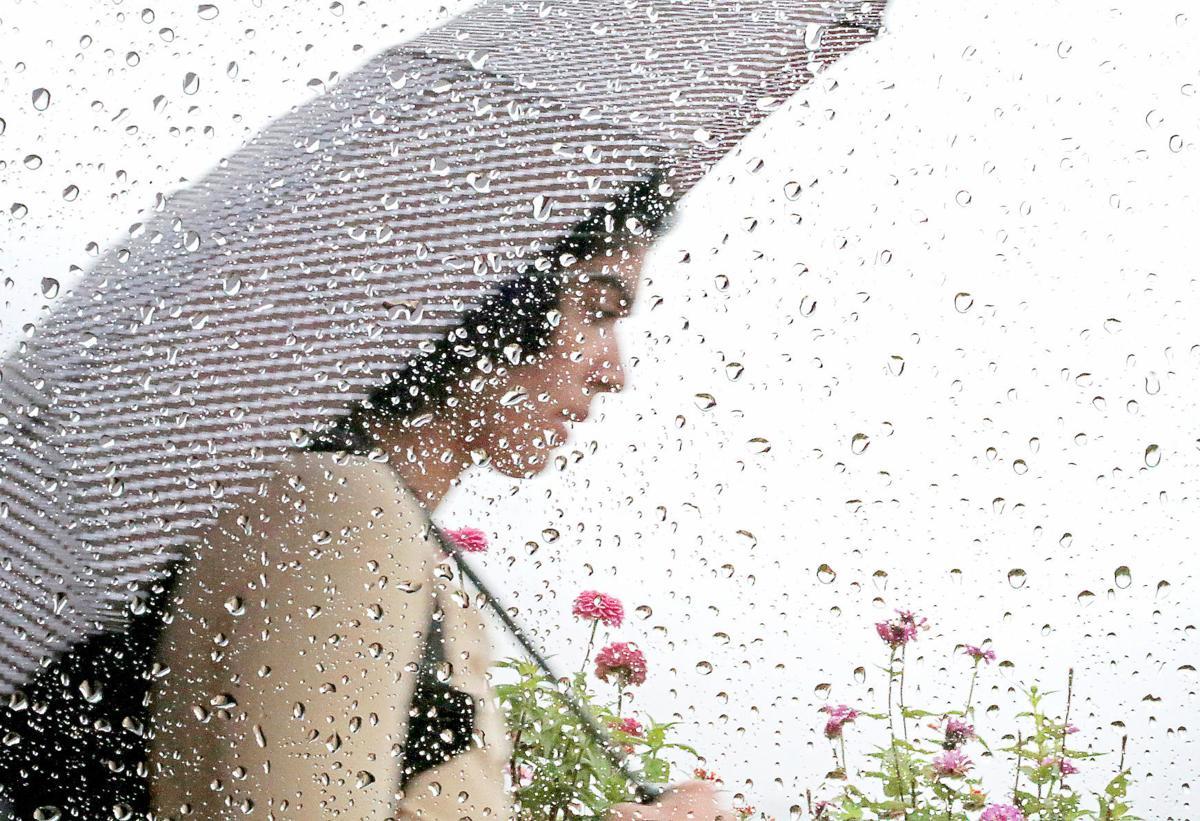 Near-record precipitation