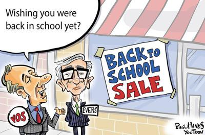 Winning Back to School You Toon