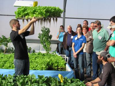 International students flock to Montello to learn aquaponics