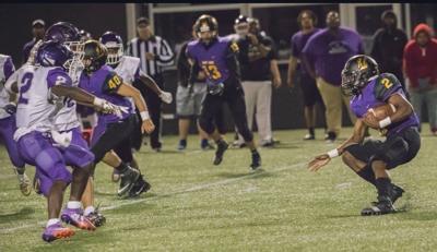 Prep football photo: Madison East's Devion Clay