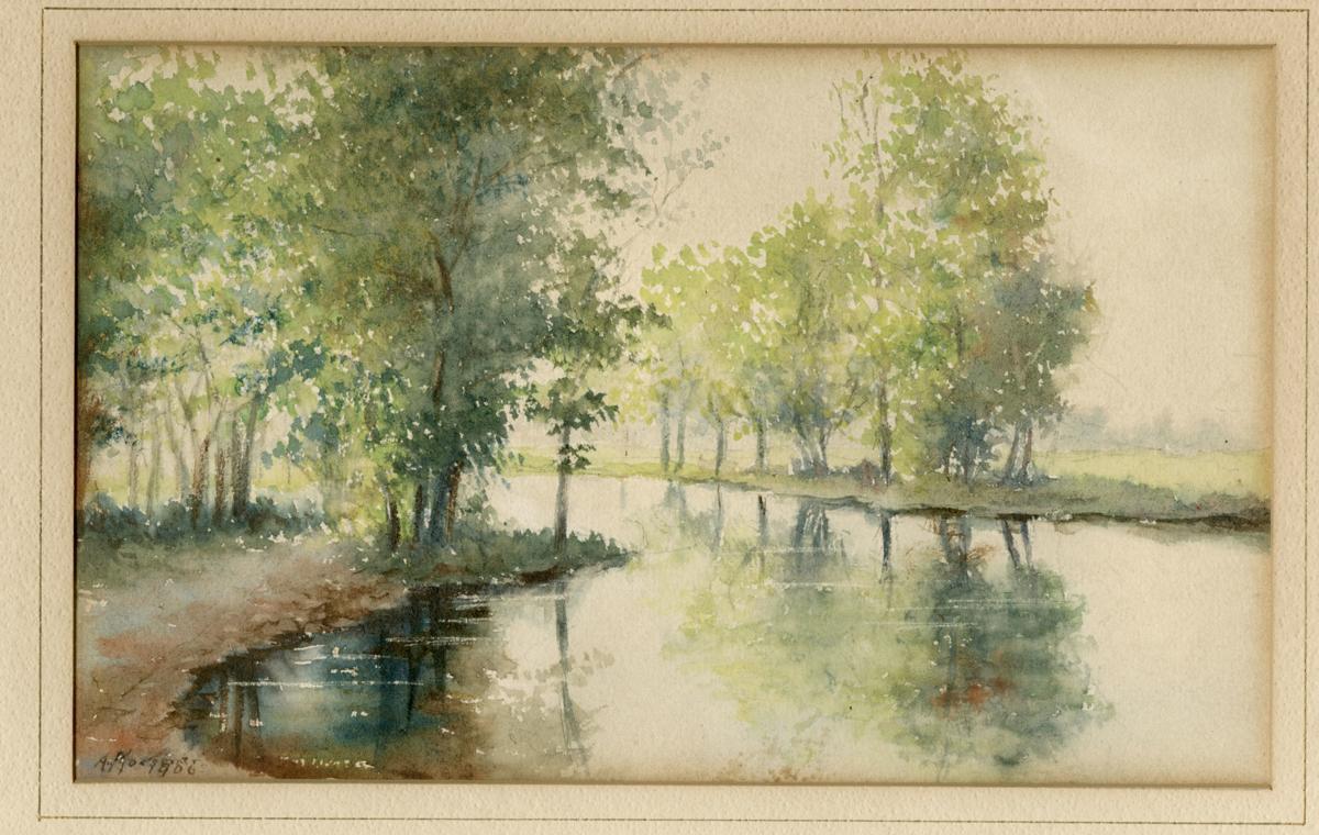 Yahara River painting