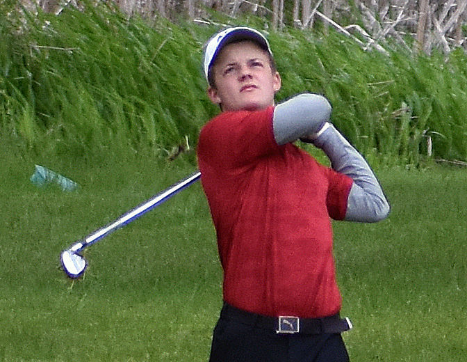 WIAA boys golf photo: Middleton's Jacob Beckman
