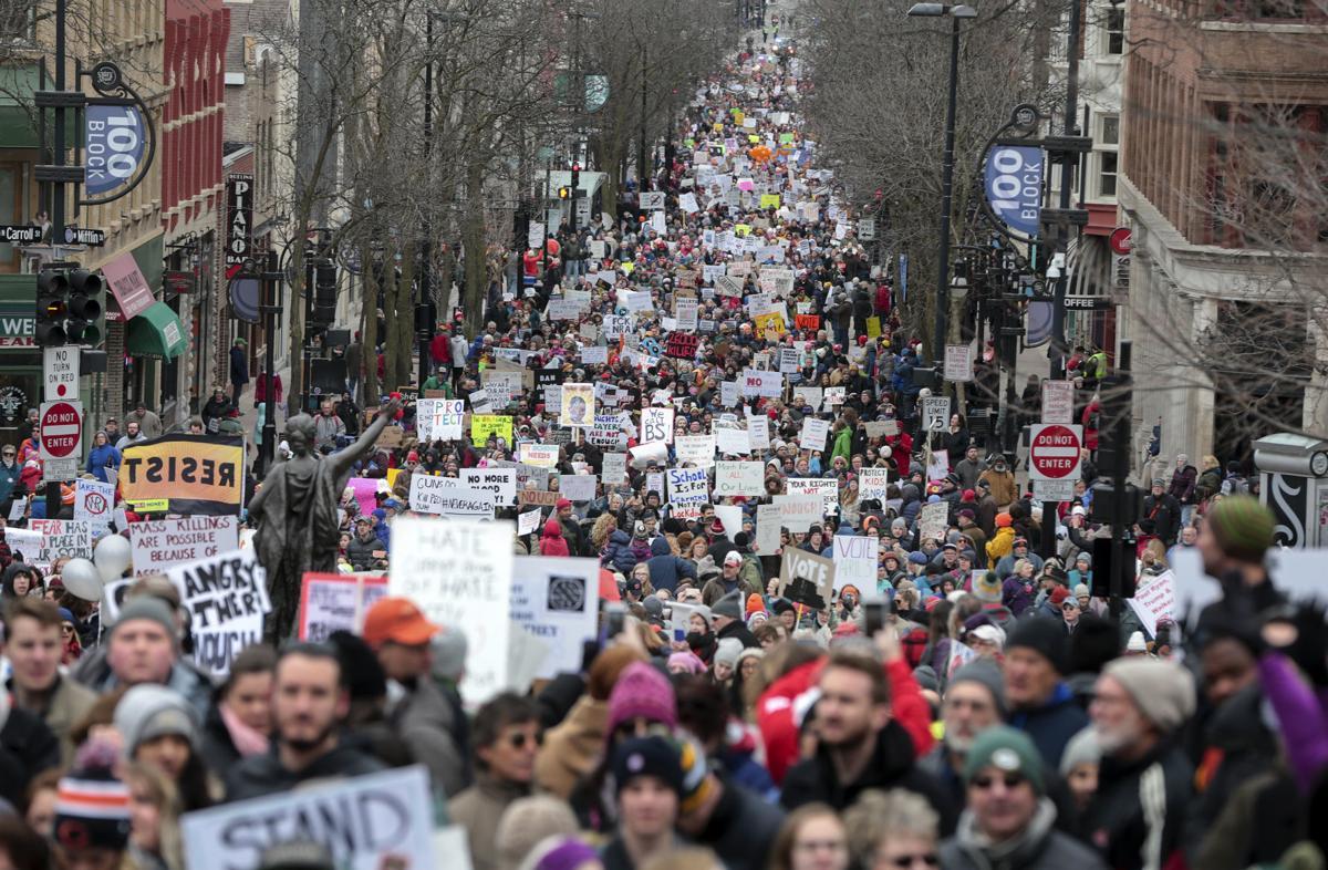 Student Gun Protest Wisconsin