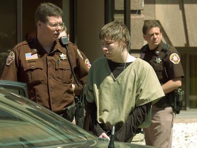 Brendan Dassey after hearing