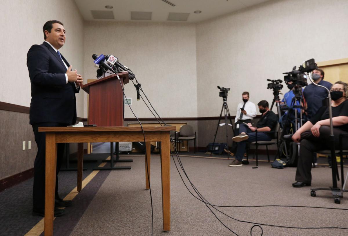 Josh Kaul press conference