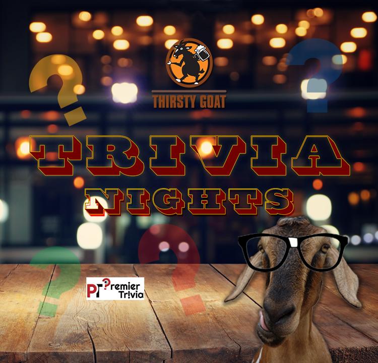 Trivia Night at Thirsty Goat
