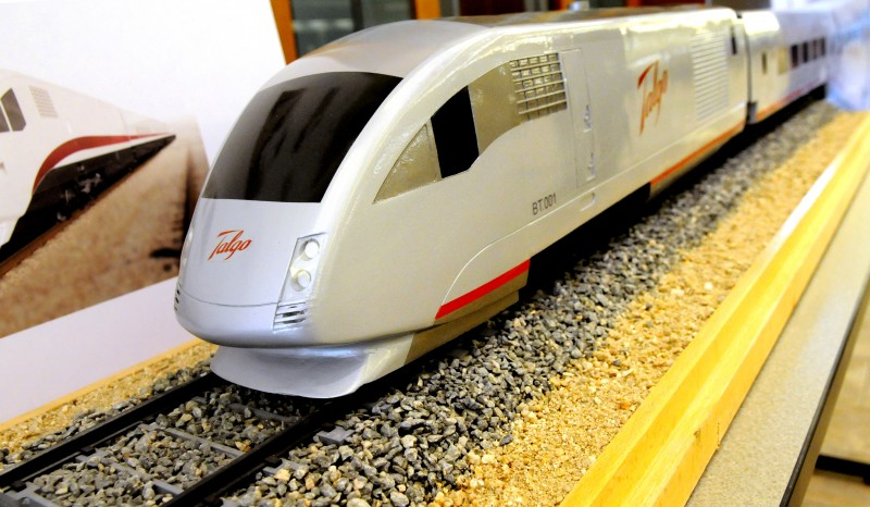 High-speed rail train