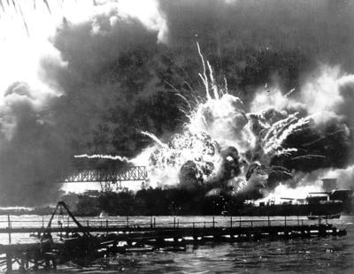 Pearl Harbor Attack USS SHAW