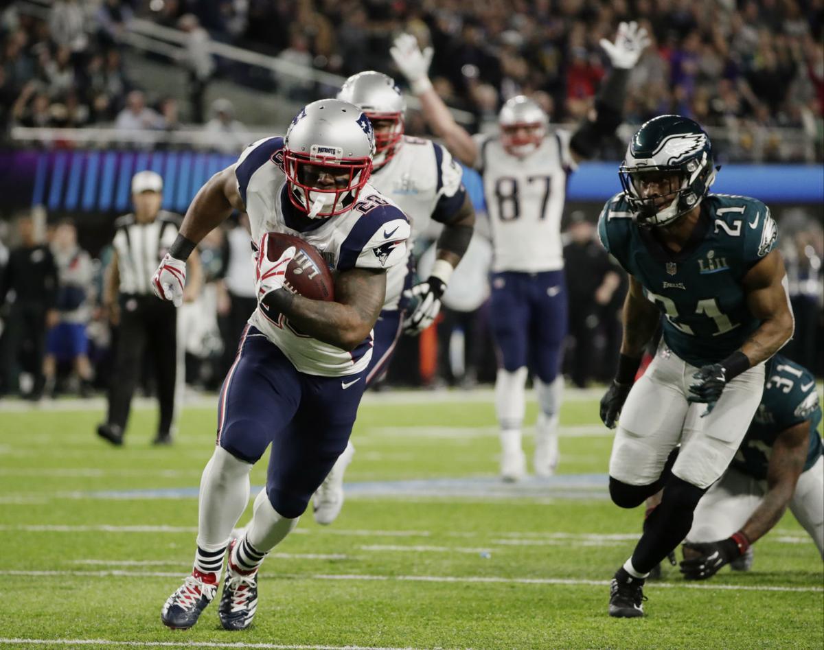 James White touchdown run